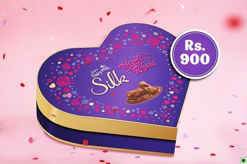 Buy Heart-shaped Chocolate Box Online